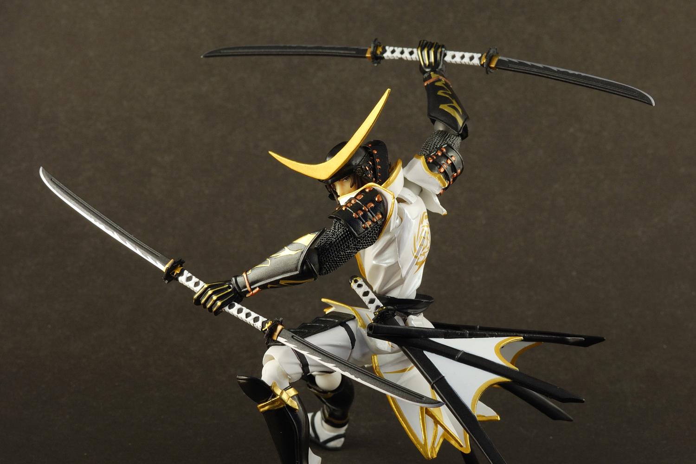 Review Revoltech Date Masamune Limited White Ver Hobby Hovel
