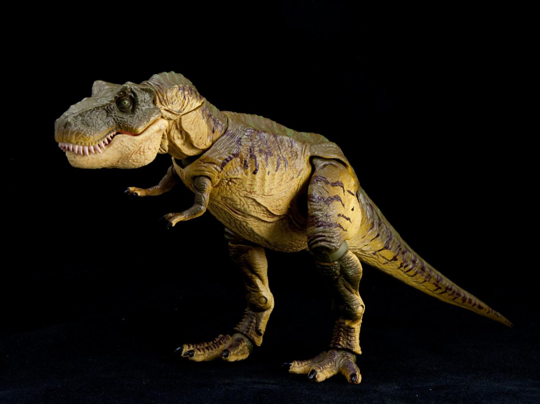 Review revoltech sfx t rex hobby hovel for Tyranosaurus rex