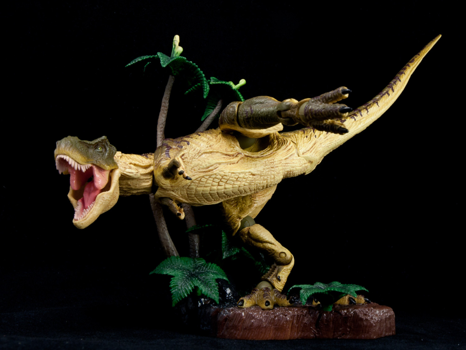 Review Revoltech Sfx T Rex Hobby Hovel